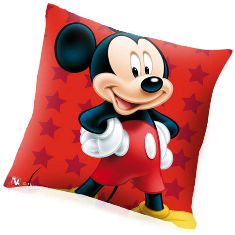 cuscino disney cuscino disney mickey mouse 40 x 40 in tessuto bakaji