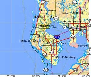 pinellas county florida zip code map pinellas county archive photos