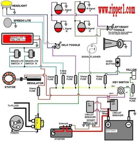 basic wiring queenz kustomz with regard to ignition