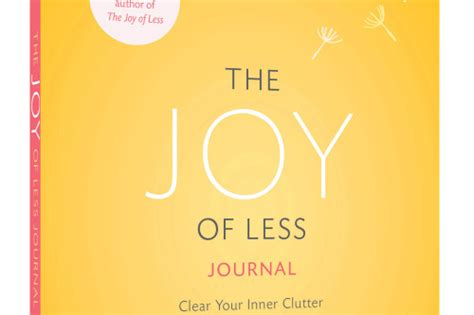 the joy of less review the joy of less journal by francine jay