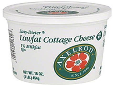 Axelrod Cottage Cheese by Axelrod Cottage Cheese Lowfat 1 Milkfat 16 0 Oz