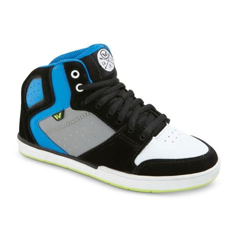 boy s shaun white 174 fremont leather high top target