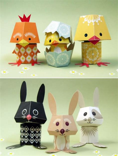 Animals Out Of Paper - 25 best ideas about paper toys on 3d paper