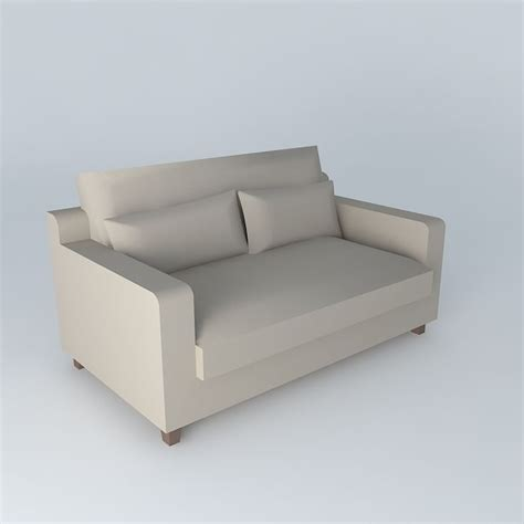 Sofa Sait by Sofa Taupe Seats 2 St Remy Maisons Du Monde 3d Model Max