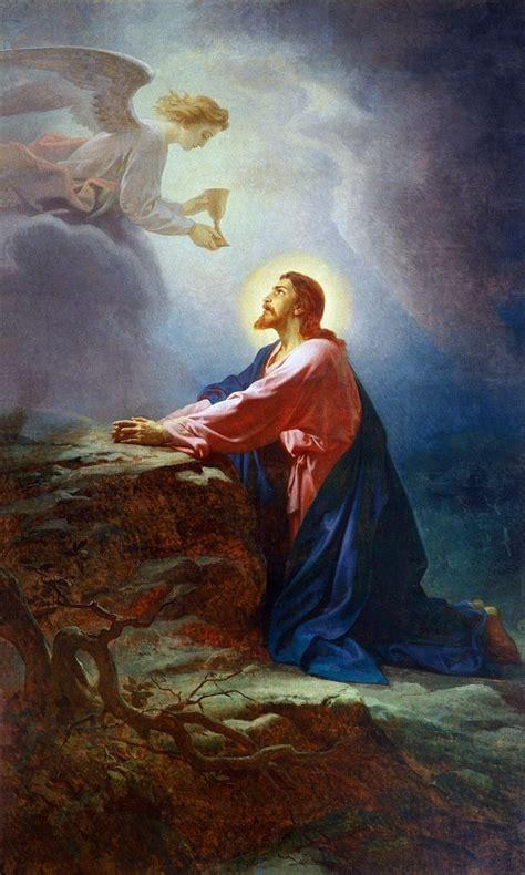 imagenes del señor orando en el huerto la oraci 211 n de jes 218 s en el huerto de los olivos imagenes
