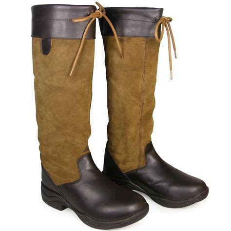 boots stable yard leather