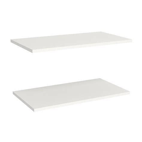 Closetmaid White Shelf Closetmaid Impressions 25 In Standard Shelves In