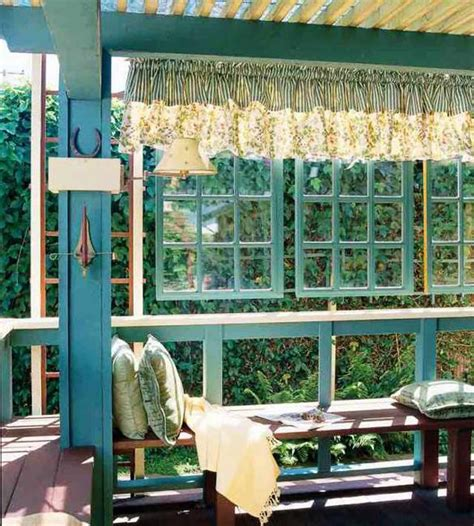 Decor Windows And Doors - recycling wood doors and windows for outdoor home