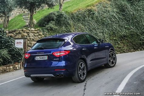 maserati bangalore first unit of maserati levante suv arrives in india at