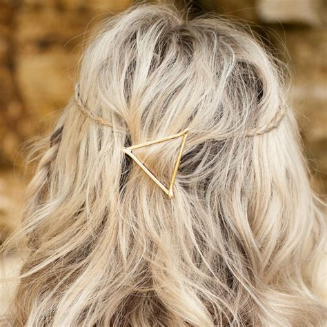 triangle hair hair triangle asos limited edition open twist triangle