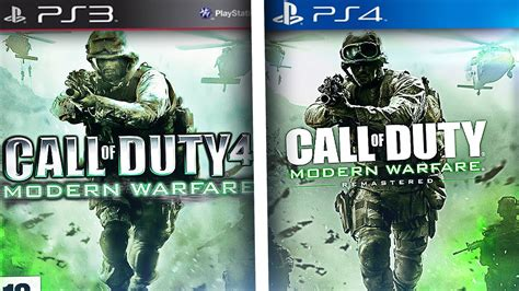Kaset Ps4 Call Of Duty Modern Warfare Remastered Call Of Duty 4 In Quot Ps3 Vs Ps4 Quot In Comparaci 211 N Gameplay Call Of Duty Remastered