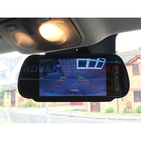 rear view universal rear view mirror reversing monitor
