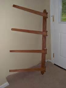 pdf diy wooden quilt rack wall mount wooden plans