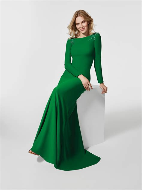 green cocktail dresses with sleeves green cocktail dress long dress grisel long sleeves