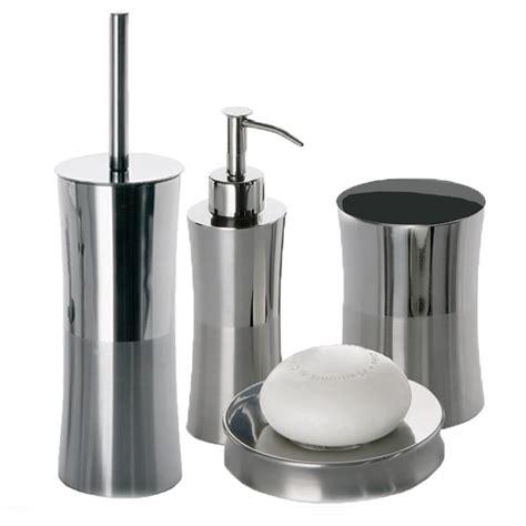 accessori bagno inox set accessori arredo bagno in acciaio inox gedy primula