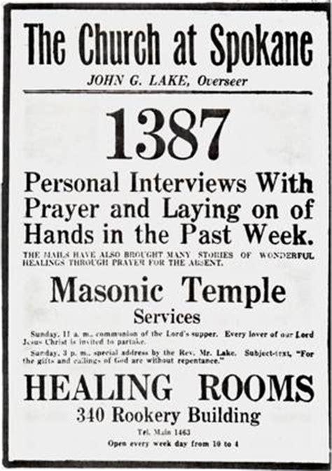 healing rooms spokane g lake newspaper