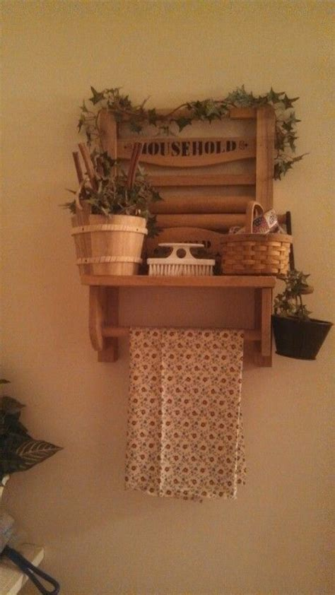 Primitive Laundry Room Decor Primitive Country Laundry Room Decor Prim Decor Pinterest