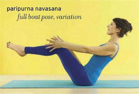 boat pose with block core competency core integration with a block paripurna