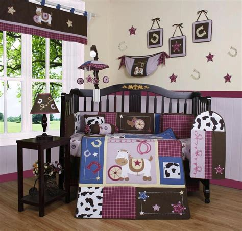 cowgirl bedroom girls crib bedding western cowgirl horse 13 pc set baby