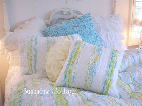 cottage bedding shabby chic bedding cottage pillows shams