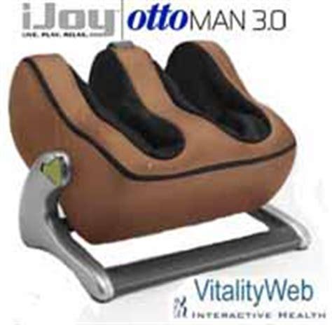 ijoy ottoman 3 0 calf leg massager ottoman robotic calf foot massage human touch