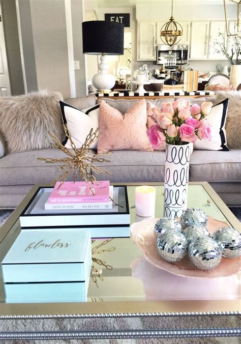 love decorations for the home coffee table decorating i absolutely love the look of pink