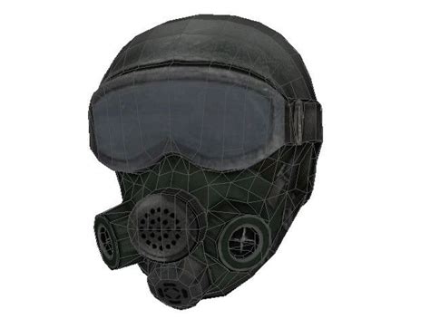 Gas Mask Papercraft - s t a l k e r clear sky anti gas mask papercraft free