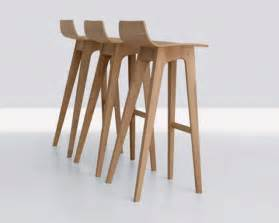 Modern Wood Bar Stool Contemporary Wooden Furniture Design Iroonie