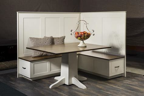 Kitchen Dining Nook Set from DutchCrafters Amish Furniture