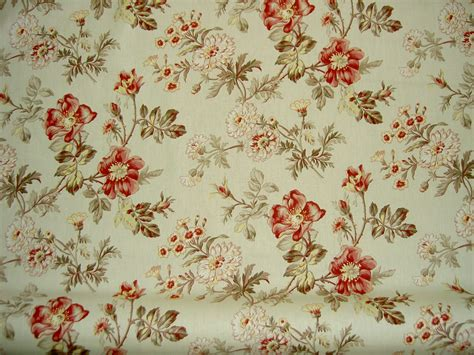 flower pattern upholstery fabric covington fabrics pattern farrell 73 floral color rose red