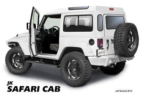 jeep safari top want a custom jk quot look quot then check out these hand made