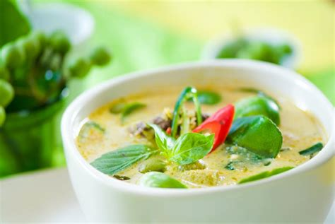 the pink peony of le jardin best thai green curry with chicken recipe