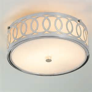 small interlocking rings flush mount ceiling light flush