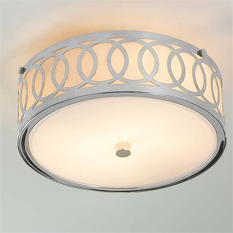 Small Flush Mount Ceiling Light Fixtures by Small Interlocking Rings Flush Mount Ceiling Light Flush