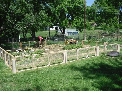 Fenced Backyard Landscaping Ideas Modular Garden Fence By Dannyboy Lumberjocks Woodworking Community