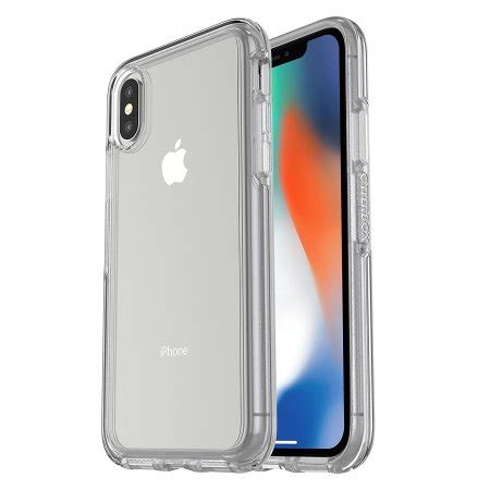 otterbox symmetry iphone xs clear