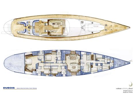 layout yacht navigator sailboat plans david chan