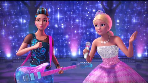 Film Barbie En Arabe   barbie in rock n royals arabic trailer youtube