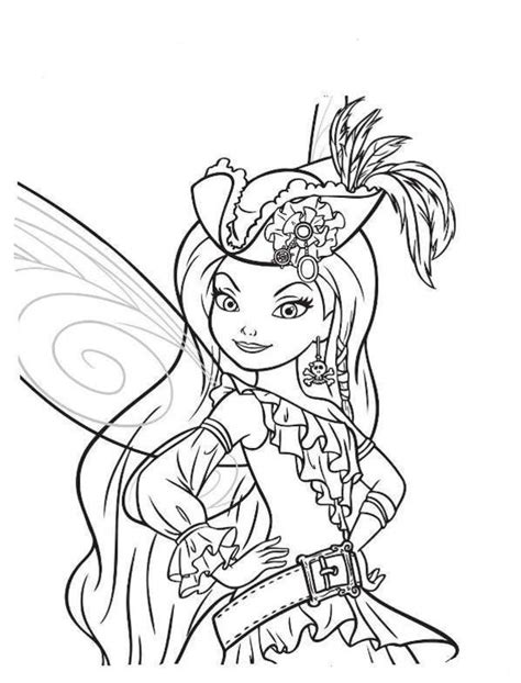 tinkerbell halloween coloring pages festival collections