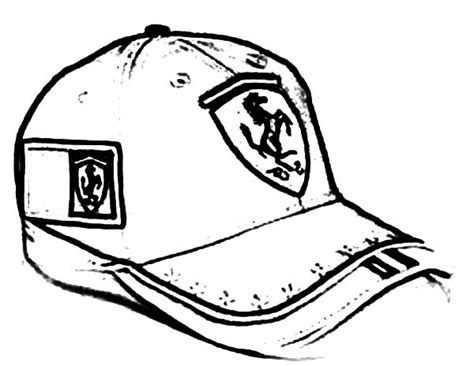 Baseball Cup Topi 38 cap coloring cap coloring