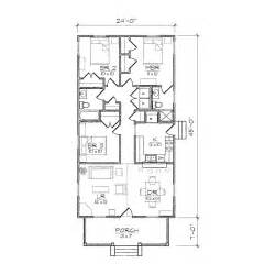 Small Lot Home Plans Narrow Lot House Floor Plans Narrow House Plans With Rear