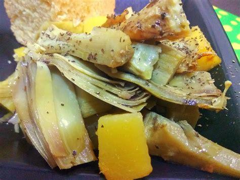 carciofi cucinare carciofi e patate in trenta minuti in cucina c 232 lorenzo