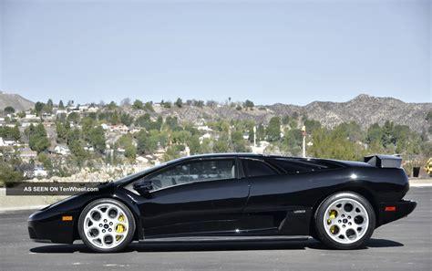 2001 Lamborghini Diablo 2001 Lamborghini Diablo Vt 6 0 Coupe 2 Door 6 0l