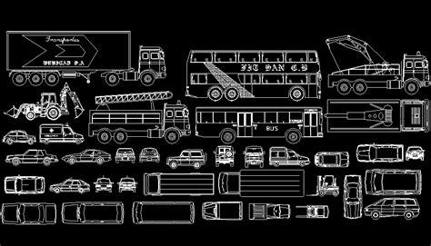 librerias autocad bloques autocad gratis de veh 237 culos y transportes