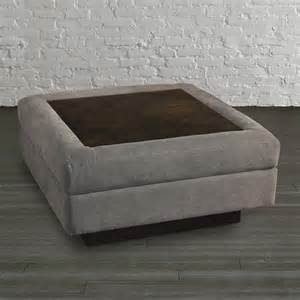 Table Top For Ottoman Wood Top Ottoman Table