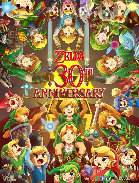 Legend Of Anniversary 30th Anniversary By Linkdoodle On Deviantart