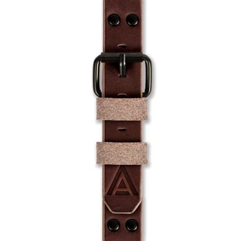 Handmade Straps - brown no 1914 handmade 24mm band