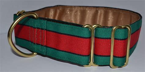 gucci collar gucci stripe 1 inch collar