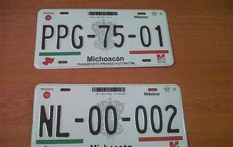 diseo de las nuevas placas de michoacan placas nuevas a pagadores puntuales por fin despu 233 s de