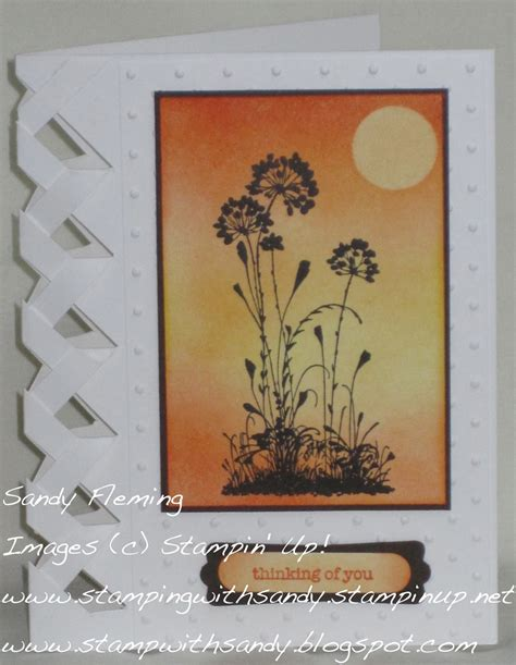Brandys Cards Braided Card Template by St With Braided Sunset Card